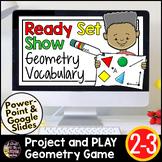Google Classroom | Distance Learning Math | Geometry Vocabulary FREE