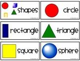 FREE Geometry Vocabulary Cards