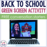 FREE Get to Know You Green Screen Activity for Back to School