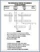 FREE Gettysburg Address Vocabulary Activites: Grades 3-4 (Common Core)