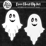 FREE Ghost Clip Art   September 2017 Clip Artists' Collab
