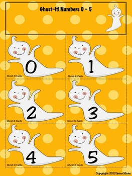 *A Halloween Freebie!* Ghost-It! A Math Game For October And Fall