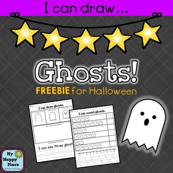 {FREE} Ghosts! Drawing, Reading, Writing, and Counting for