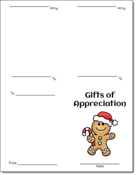 FREE Gifts of Appreciation Holiday Cards