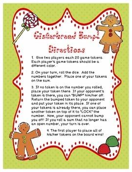 Christmas FREE Gingerbread Bump