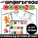 FREE Gingerbread Coding - Hour of Code - Christmas Coding