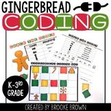 FREE Gingerbread Coding - DIGITAL + PRINTABLE - Hour of Code - Christmas Coding