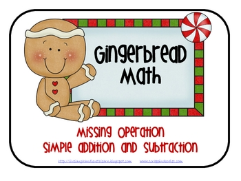 FREE Gingerbread Operations