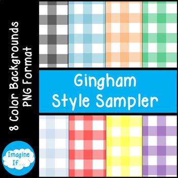 Backgrounds-Gingham Sampler