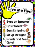 FREE Give Me Five Poster