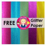 Glitter Paper - FREE {Commercial Use OK}
