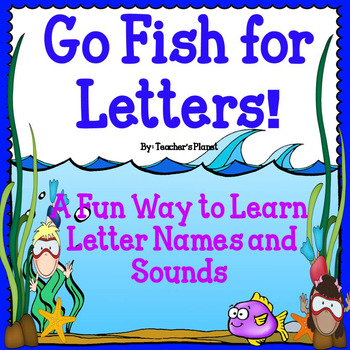 FREE! Go Fish for Letters