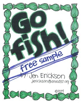 **FREE** Go Fish!  (tricky rhymes sample)