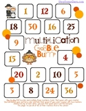FREE Gobble Bump Game - Multiplication