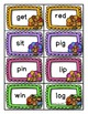 Thanksgiving Activities FREE Game CVC Words, Blends, and Digraphs
