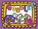 Thanksgiving Games CVC Words, Blends, and Digraphs