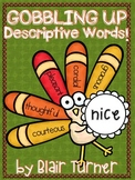 {FREE!} Gobbling Up Descriptive Words