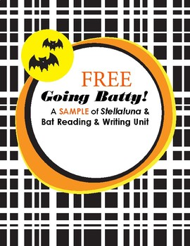 FREE Halloween Going Batty Activities: Stellaluna & Bat Common Core Unit Sample