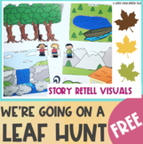 FREE Going On A Leaf Hunt Story Retell Visuals