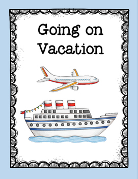 FREE Going on Vacation Rhyme Bundle