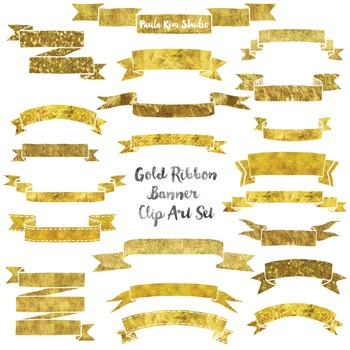Gold Banner Clip Art
