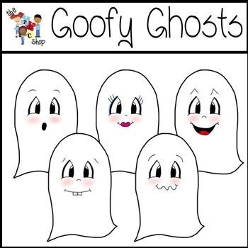 FREE! Goofy Ghosts