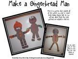 FREE Goofy Gingerbread Man Pattern