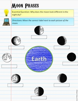 FREE Google Classroom Digital INB Solar System and Space