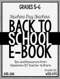 FREE Grades 5-6 Back to School eBook 2015-2016