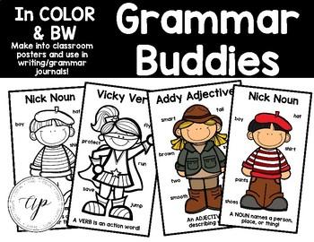 FREE Grammar Buddies