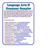 FREE Grammar & Language Arts Sampler - 16 Printable Pages!