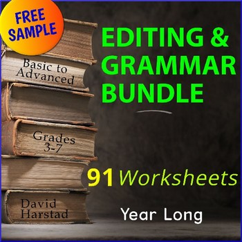 FREE - Grammar | Oregon Trail Worksheet (Gr. 3-7)