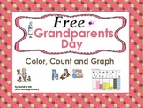FREE Grandparents Day  (Color, Count and Graph):