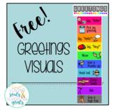 FREE! Greetings Visuals
