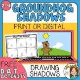 FREE Groundhog Day Activity - Lights and Shadows