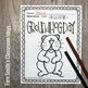 Groundhog Day Coloring Page Freebie