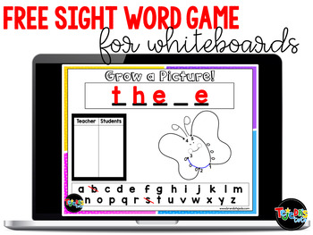 FREE Grow-a-Picture (Sight Word 'Hangman')