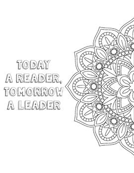FREE Growth Mindset Coloring Page - Growth Mindset Activities