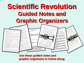 FREE Guided Notes and Graphic Organizers for the Scientific Revolution Unit
