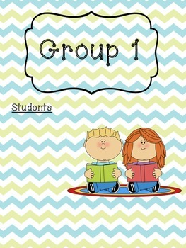 FREE Guided Reading Group Sheets- Chevron Print