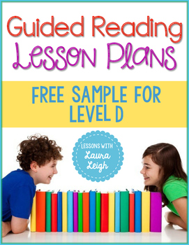 FREE Guided Reading Lesson Plans