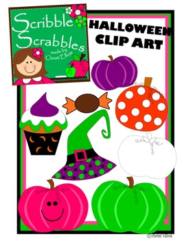 HALLOWEEN CLIP ART  8 images included
