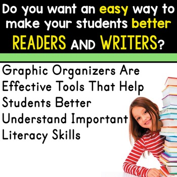 FREE HALLOWEEN | Graphic Organizers for Reading | Reading Graphic Organizers