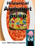 FREE HISTORY    Alphabet Soup Activity