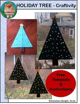 FREE: HOLIDAY TREE ART PROJECT
