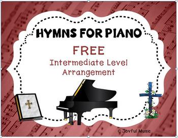 FREE HYMN FOR PIANO Intermediate Level Arrangement AMAZING GRACE
