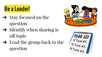 FREE Habits of Discussion Anchor Charts
