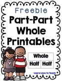 FREE Part Part Whole Worksheets