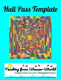 FREE Hall Pass Template