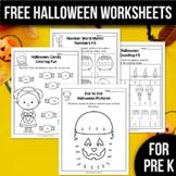 FREE Halloween Activities For Kindergarten (Math & Literac